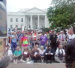 civil disobedience at White House, September 26, 2005.jpg